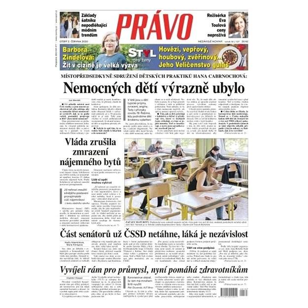 Právo - 02-06-2020 - Elektronické noviny