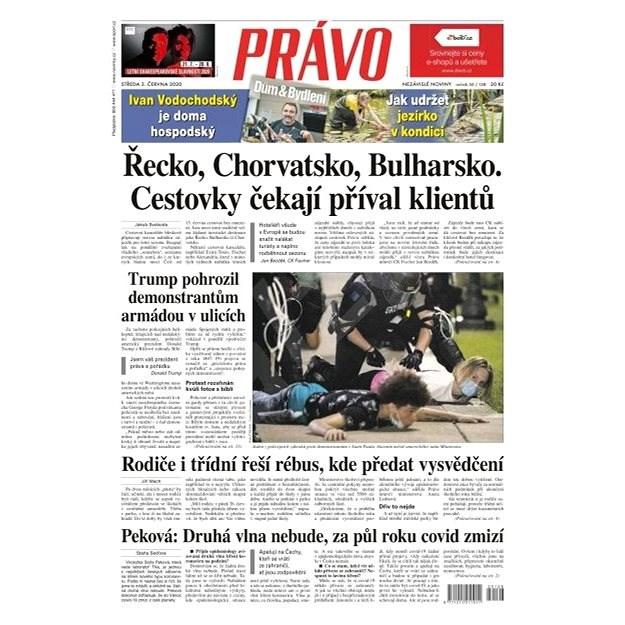 Právo - 03-06-2020 - Elektronické noviny