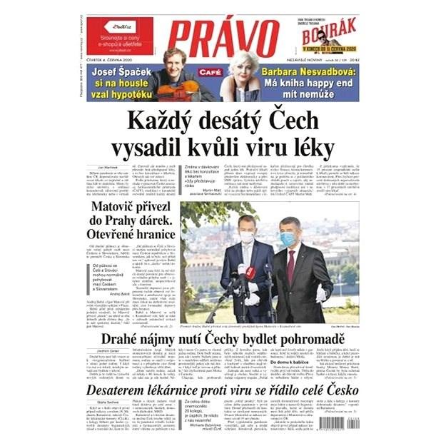 Právo - 04-06-2020 - Elektronické noviny