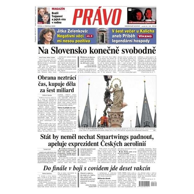 Právo - 05-06-2020 - Elektronické noviny