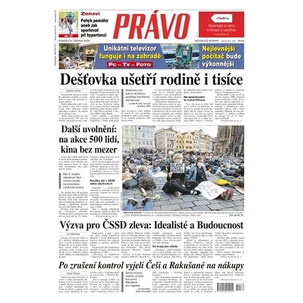 Právo - 08-06-2020 - Elektronické noviny