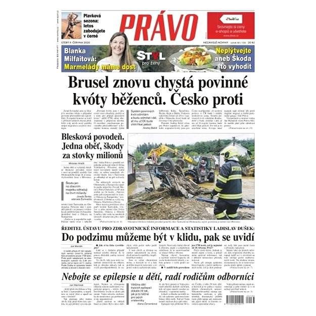 Právo - 09-06-2020 - Elektronické noviny