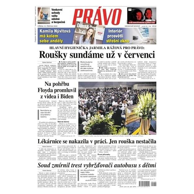 Právo - 10-06-2020 - Elektronické noviny