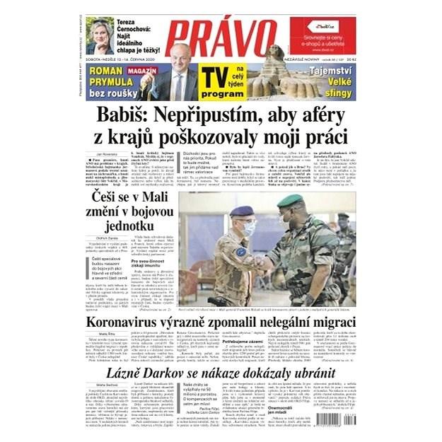 Právo - 13-06-2020 - Elektronické noviny