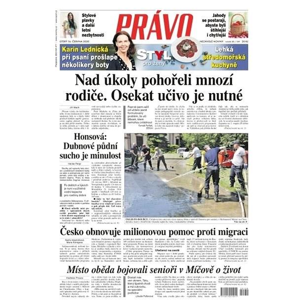 Právo - 16-06-2020 - Elektronické noviny