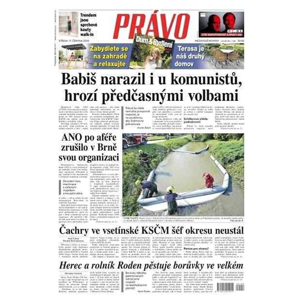 Právo - 17-06-2020 - Elektronické noviny