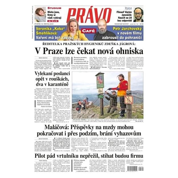 Právo - 18-06-2020 - Elektronické noviny