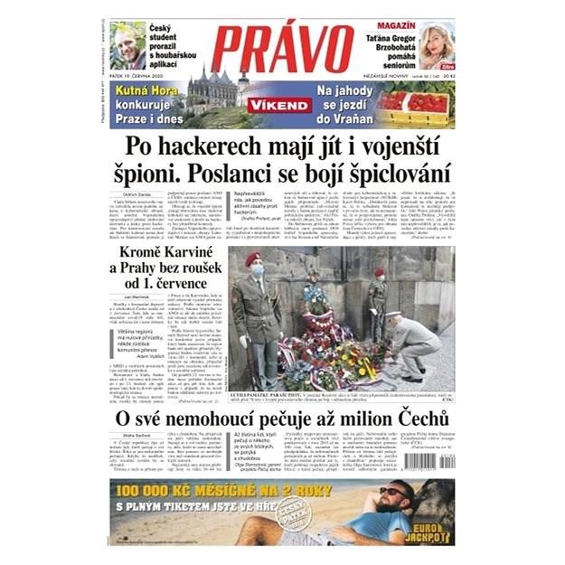 Právo - 19-06-2020 - Elektronické noviny