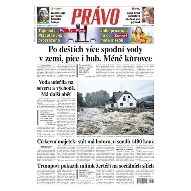 Právo - 22-06-2020 - Elektronické noviny