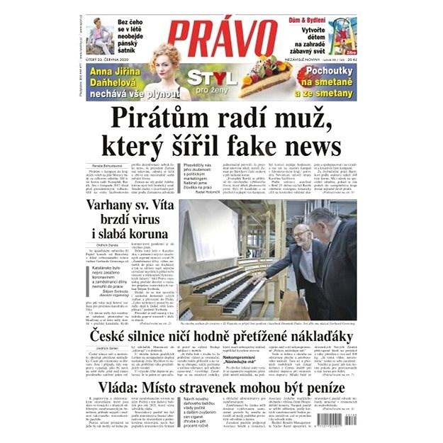 Právo - 23-06-2020 - Elektronické noviny