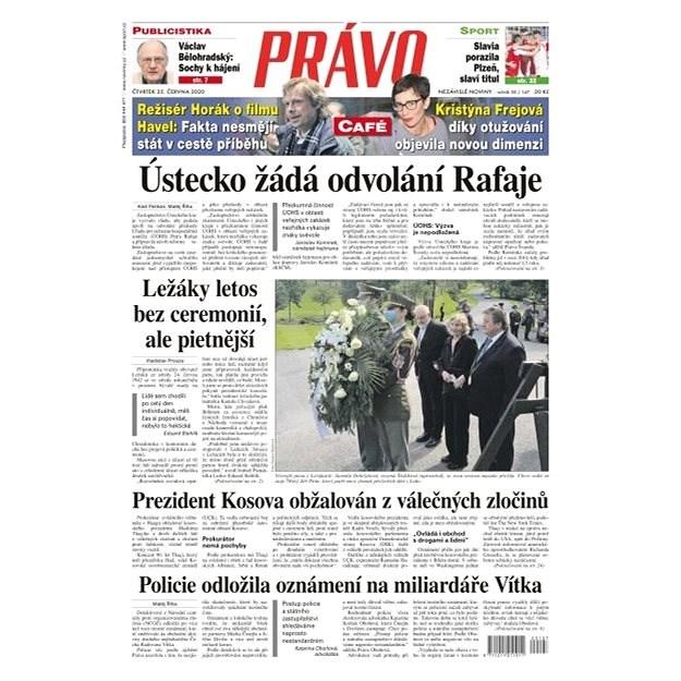 Právo - 25-06-2020 - Elektronické noviny