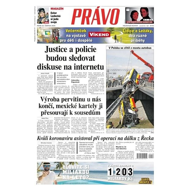 Právo - 26-06-2020 - Elektronické noviny