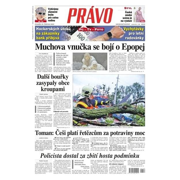 Právo - 29-06-2020 - Elektronické noviny