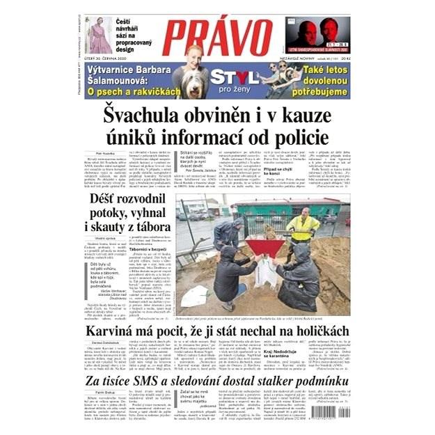 Právo - 30-06-2020 - Elektronické noviny