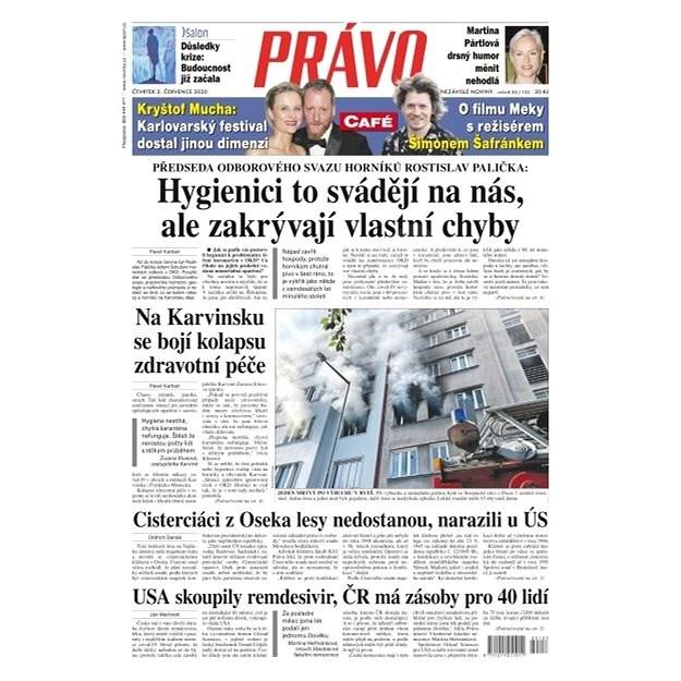 Právo - 02-07-2020 - Elektronické noviny