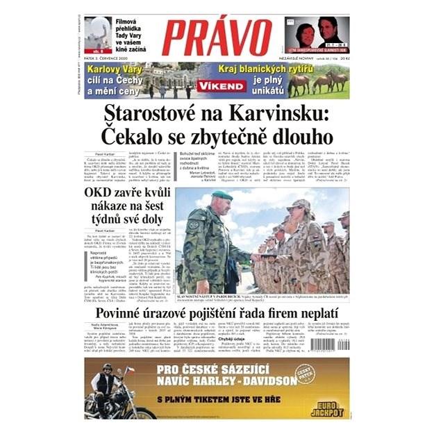 Právo - 03-07-2020 - Elektronické noviny
