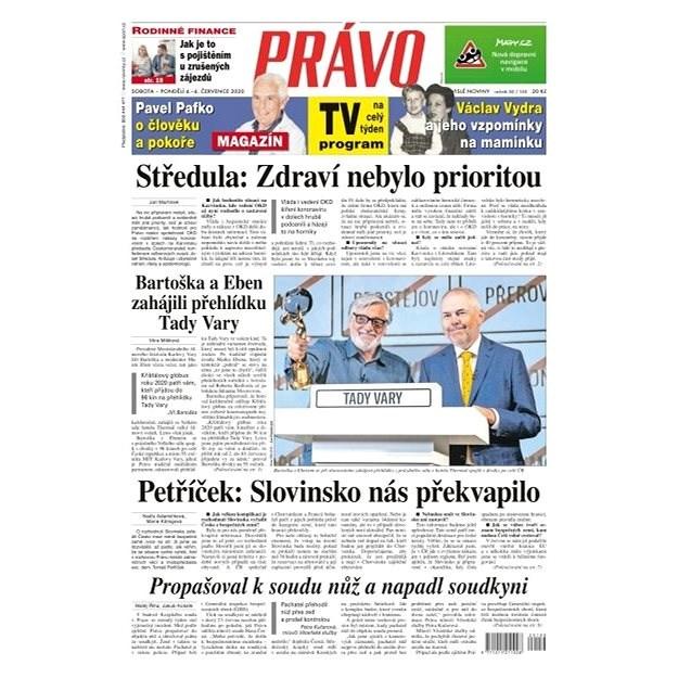 Právo - 04-07-2020 - Elektronické noviny
