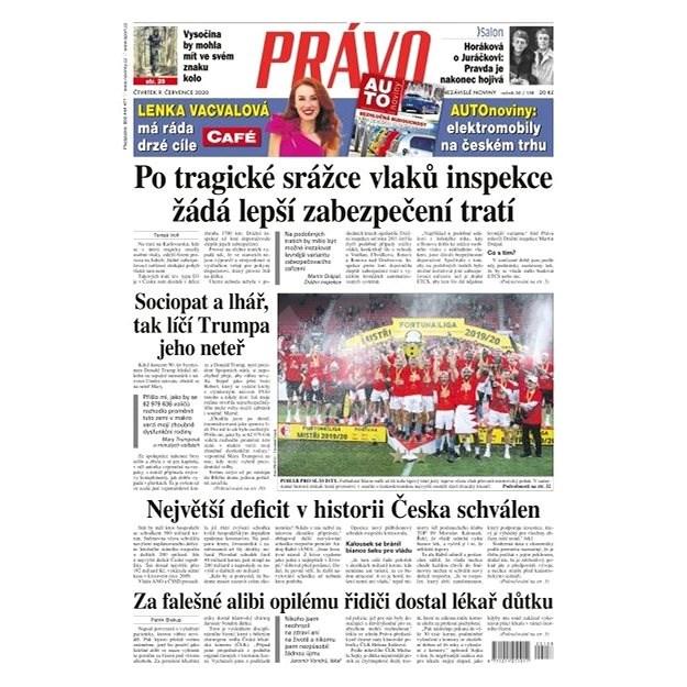 Právo - 09-07-2020 - Elektronické noviny