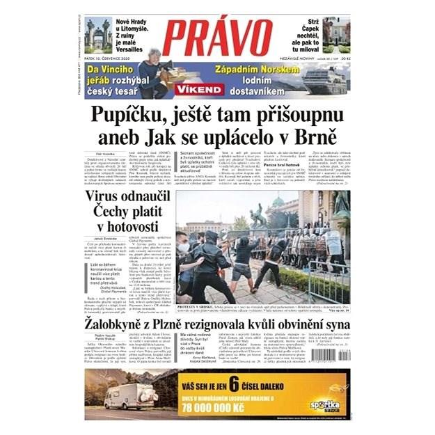 Právo - 10-07-2020 - Elektronické noviny