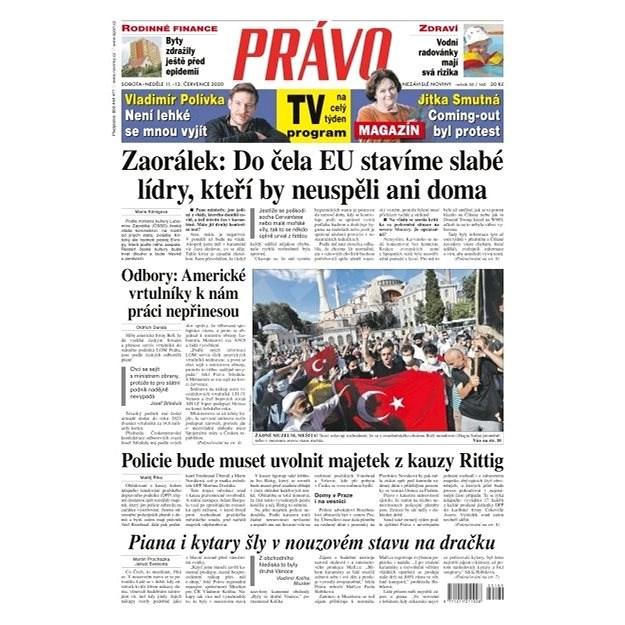 Právo - 11-07-2020 - Elektronické noviny