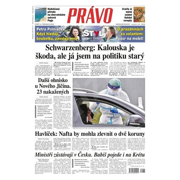 Právo - 14-07-2020 - Elektronické noviny