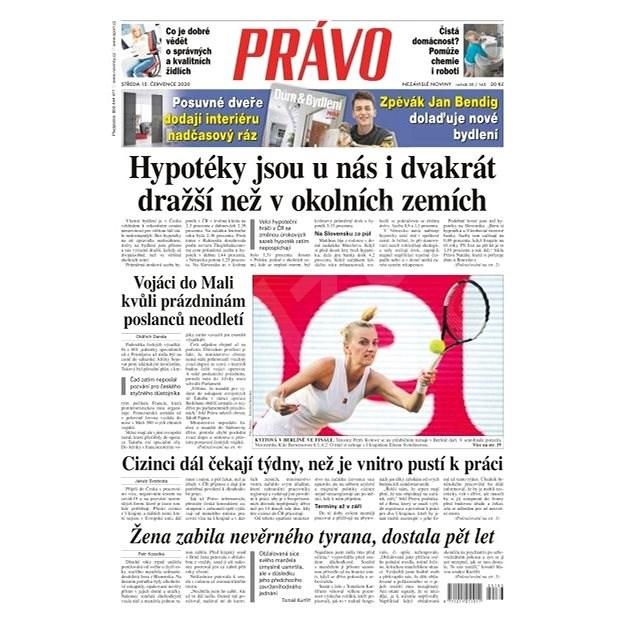 Právo - 15-07-2020 - Elektronické noviny