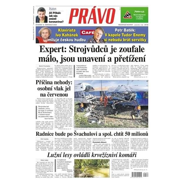 Právo - 16-07-2020 - Elektronické noviny