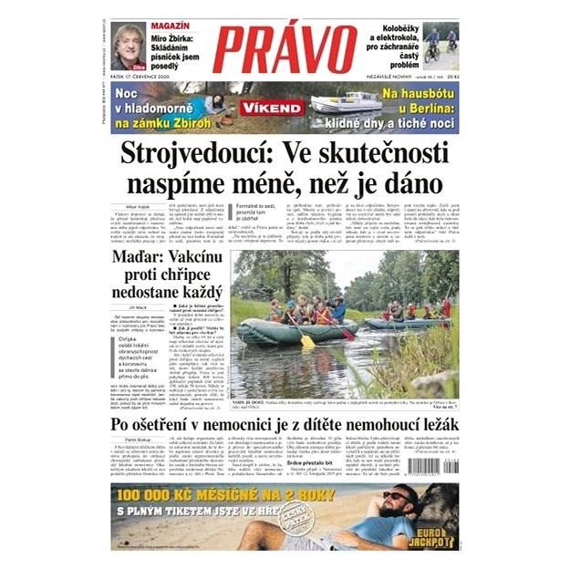 Právo - 17-07-2020 - Elektronické noviny