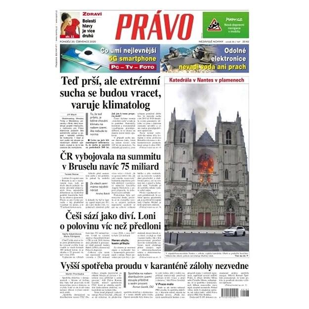 Právo - 20-07-2020 - Elektronické noviny