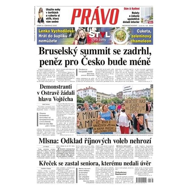 Právo - 21-07-2020 - Elektronické noviny