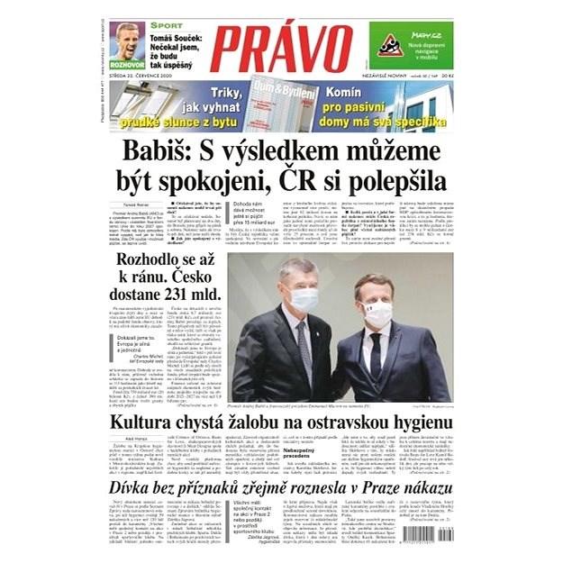 Právo - 22-07-2020 - Elektronické noviny