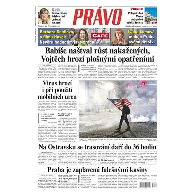 Právo - 23-07-2020 - Elektronické noviny