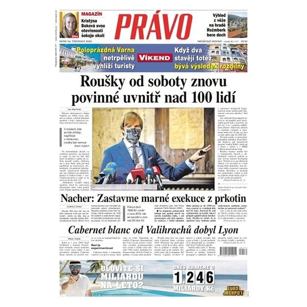 Právo - 24-07-2020 - Elektronické noviny