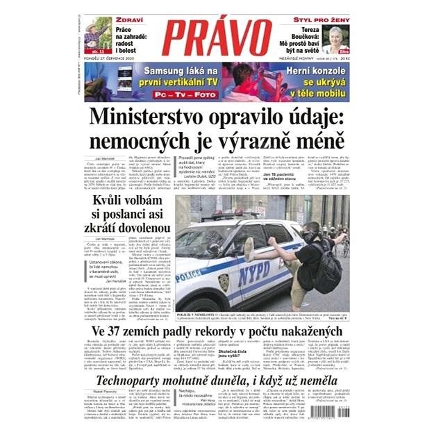 Právo - 27-07-2020 - Elektronické noviny