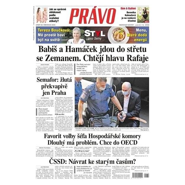 Právo - 28-07-2020 - Elektronické noviny
