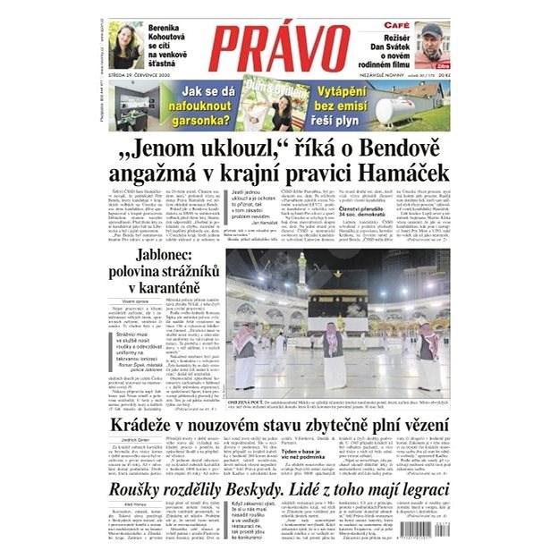 Právo - 29-07-2020 - Elektronické noviny