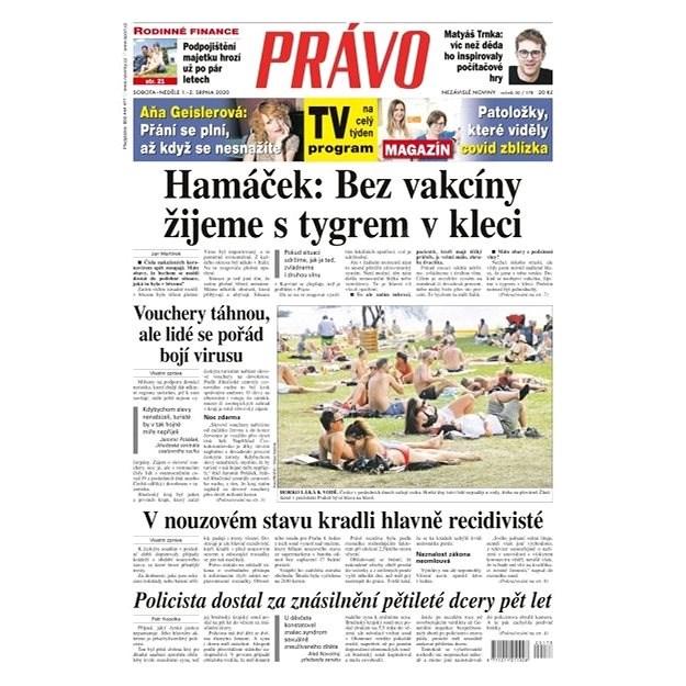 Právo - 01-08-2020 - Elektronické noviny