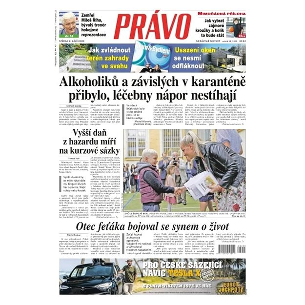 Právo - 02-09-2020 - Elektronické noviny