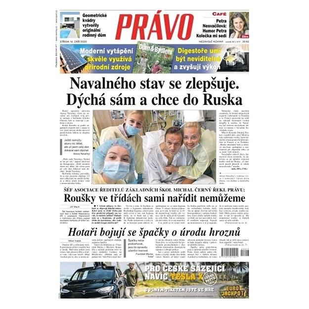Právo - 16-09-2020 - Elektronické noviny