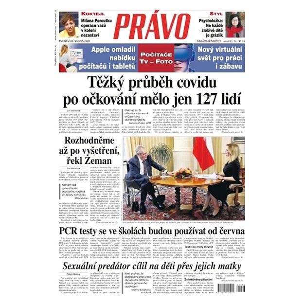 Právo - 26-04-2021 - Elektronické noviny