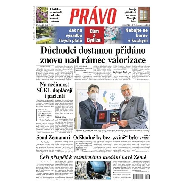 Právo - 28-04-2021 - Elektronické noviny