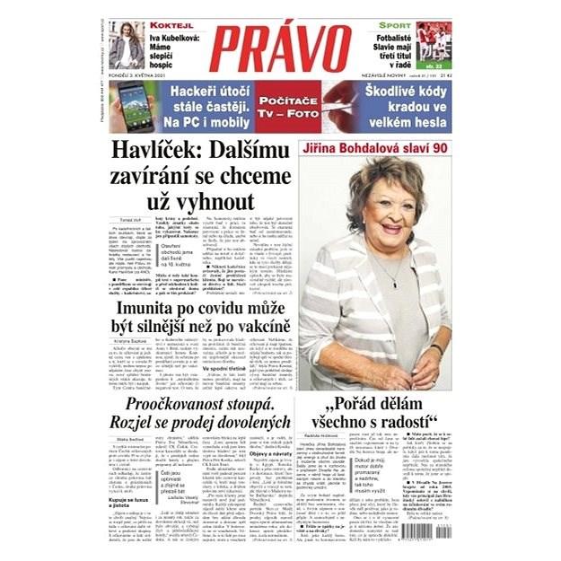 Právo - 03-05-2021 - Elektronické noviny