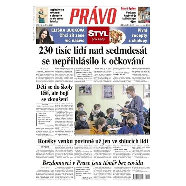 Právo - 04-05-2021 - Elektronické noviny
