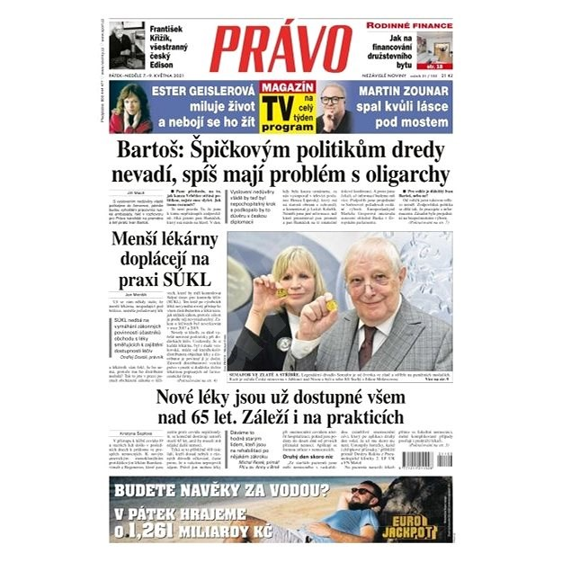 Právo - 07-05-2021 - Elektronické noviny
