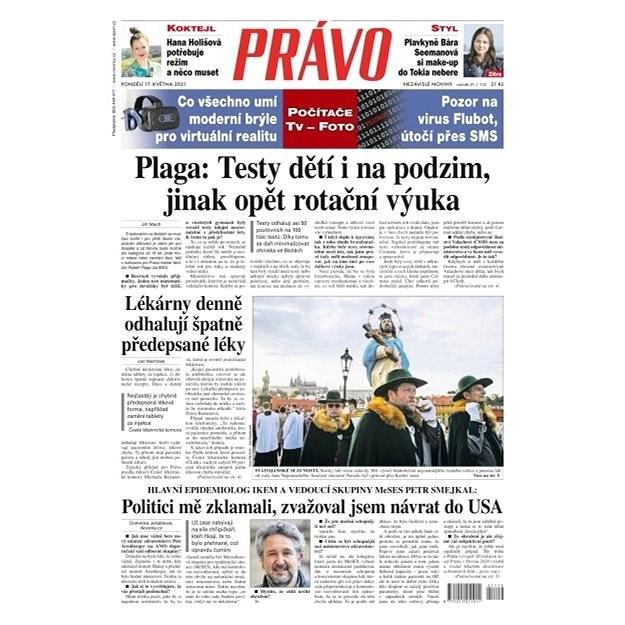Právo - 17-05-2021 - Elektronické noviny