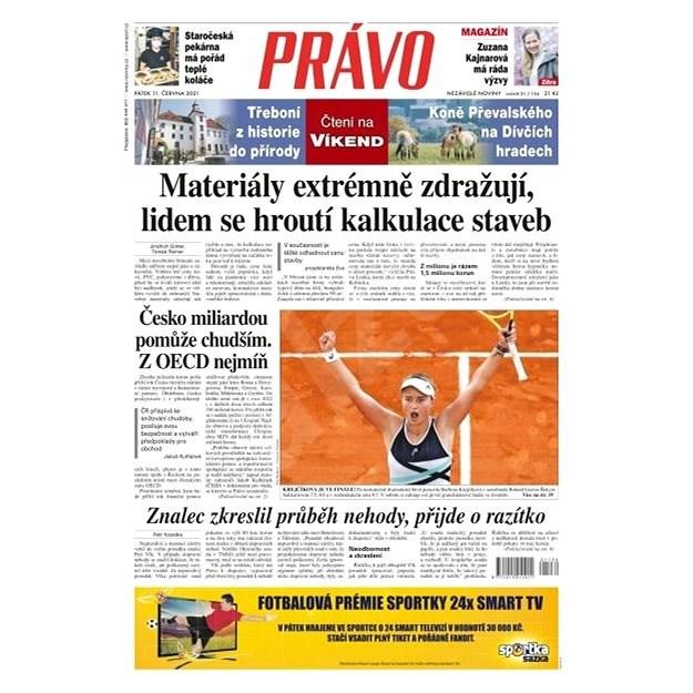 Právo - 11-06-2021 - Elektronické noviny