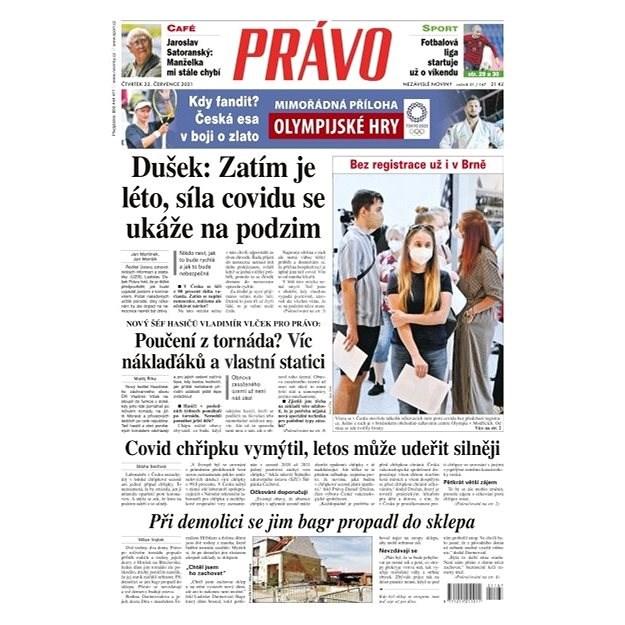 Právo - 22-07-2021 - Elektronické noviny