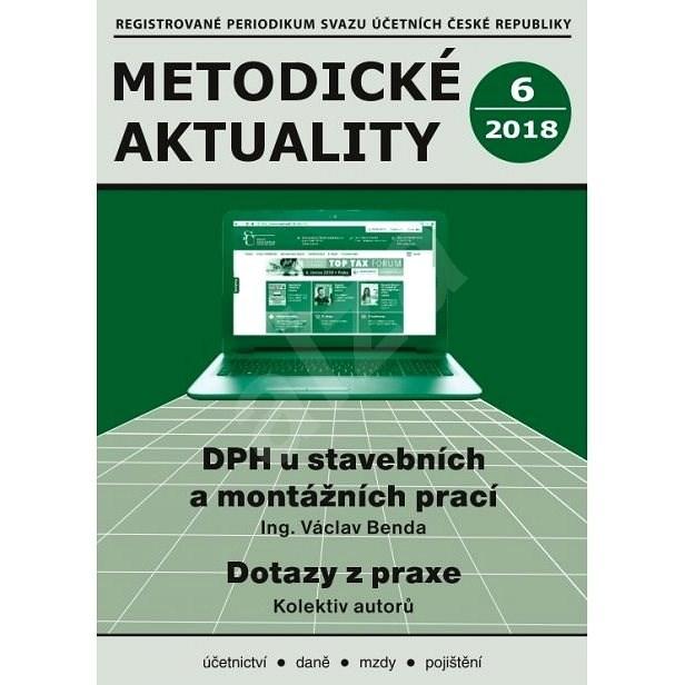 Metodické aktuality - 6/2018 - Elektronický časopis