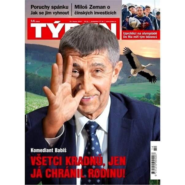 Týden - 14/2016 - Elektronický časopis