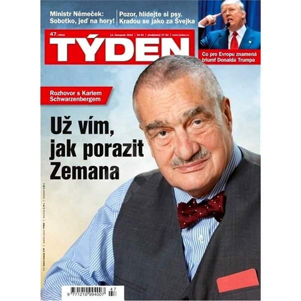 Týden - 47/2016 - Elektronický časopis